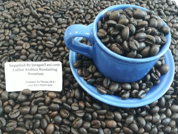 Roasted Arabica Coffee Mandheling Premium 1 kg