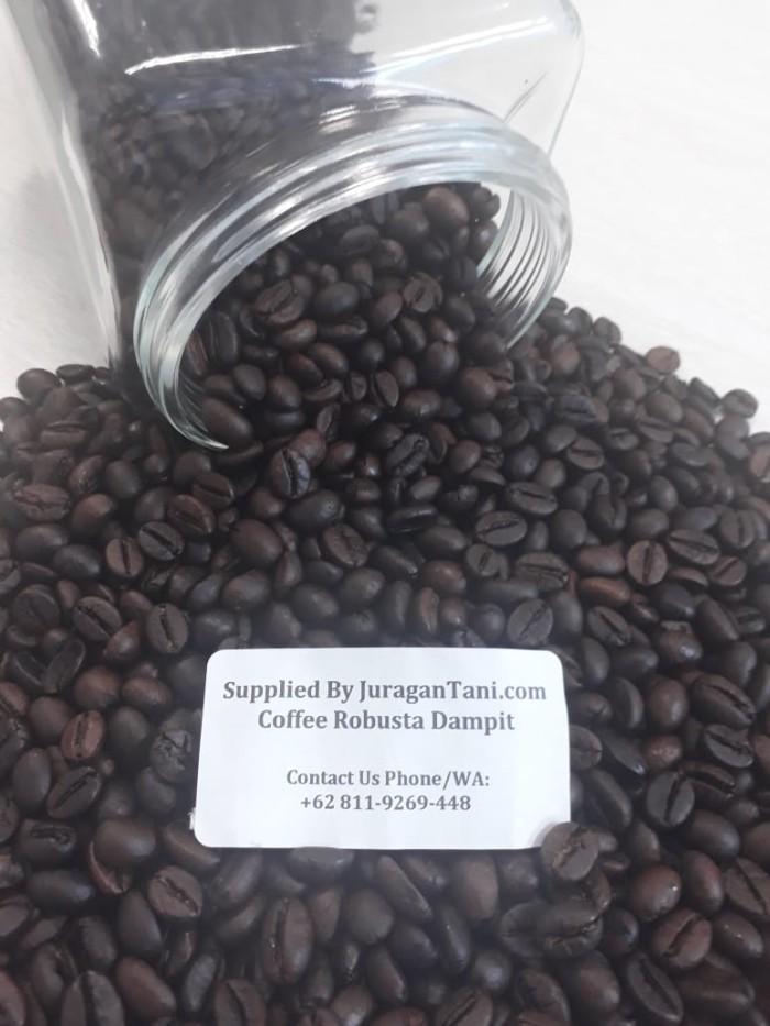 Roasted Robusta Coffee Dampit Premium 1 Kg